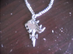 My Squall Necklace from FFVIII|by bhscorch1313