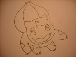 Bulbasaur Sketch|by bhscorch1313