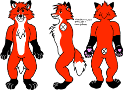 Yoshi's Fursona Fursuit Reference Sheet|by Yoshiknight2