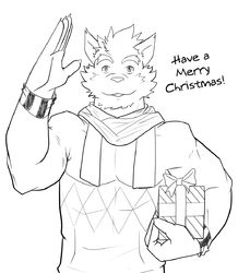Christmas Sketch|by omegalupus
