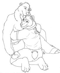Commission: Bear Hug|by Killerwolf1020