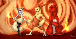 Pokemon X: FireTrio2|by Fortuname
