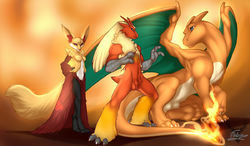 Pokemon X: FireTrio3|by Fortuname