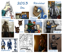 2013 in review|by Frosted_Fur