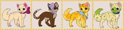 Free Adopts: Drink Inspired Kittens|by Picklessauce69