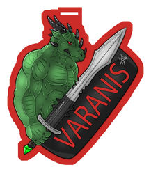Varanis Badge (Art by Lukoi)|by Varanis Ridari