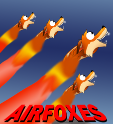 Airfoxes|by Mike Folf