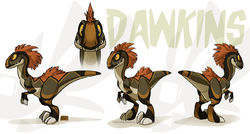 Dawkins Model Sheet|by weremagnus