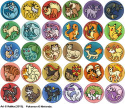 Pokemon Buttons|by Kalika_Tybera