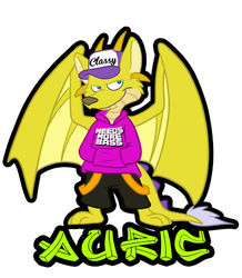 Auric Badge 1|by djauric
