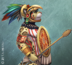 Aztec|by ZetaHaru