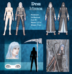 Dyne Character Sheet|by Niurendar