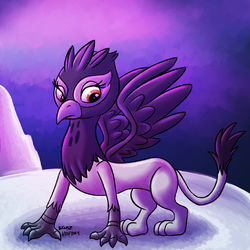 irma the griffon|by kuto