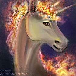 Rapidash|by GoldenEmotions