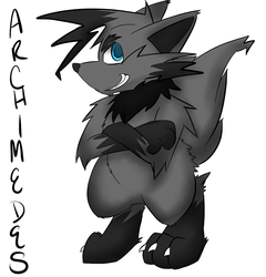 Archimedes~|by KikiFurry