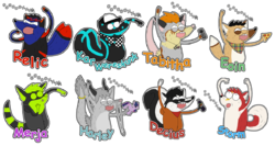 "Regular Show ""OOOOOHHH!!!"" Badges Batch 11