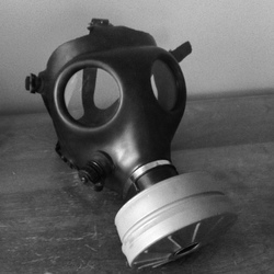 My gas mask|by Infra-red
