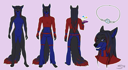 Commission - Natsemu ref.sheet|by Gaikotsu
