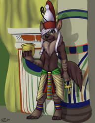 Pharaoh Osiris|by hyenafur
