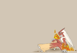 Blaziken|by Ozzy the Kangaroo