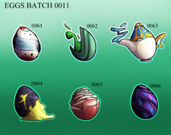 EGG BATCH 0011|by purplepardus