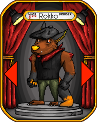 Character Select: Rokko|by Darokko