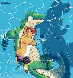 Summer games with gators|by leo_zeke