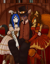 A Gentlebuck and His Saloon Gals|by RentonTBuck
