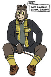 Hufflepuff Willy|by artdecade
