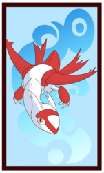 #TailiDraws - Latias|by mrpandragon