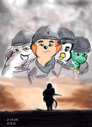 "FanArt, Cats Don't Dance ""Saving Private Ryan""