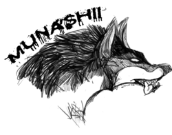 ::AT: Munashii Sketch Badge::|by King Gigabyte