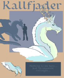 Kallfjader Ref Sheet (rough)|by Kallfjader