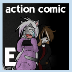 ACTION COMIC|by GothBunnyBoy