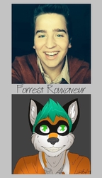 Fursona Comparison|by Forrest Rouxaveur