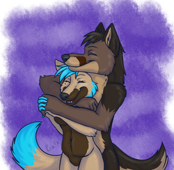 Waff Love|by Glitched_Aug