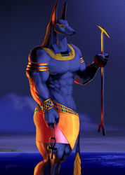 Anubis, The Guider of Souls|by Tonite