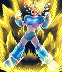 Super Saiyan X: Unleased|by samusmmx
