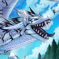 Kuthalti The Tiger Dragon (Commission)|by Nesetalis