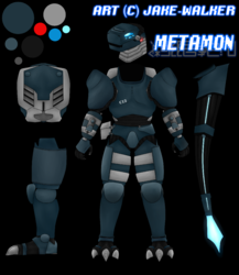 Metamon - Reference|by Dokueki