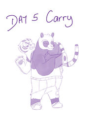 Day 5 - Carry|by zeaeve