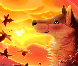 Autumn Breeze|by MinzyKat