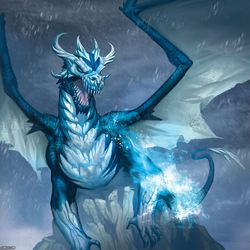 Frost Draggon~|by Sebby akiu