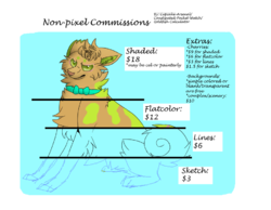 NONPIXEL Commission Prices|by CupcakeArsenal