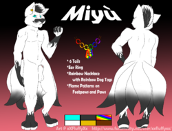Miyu Ref Sheet|by Gerald_Puppy