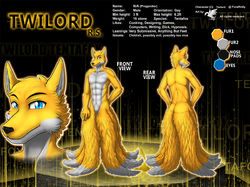 ref198/ Reference: Twilord (SFW)|by darkgoose