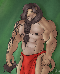 Barta, The Lion - By IceWolf|by Barta