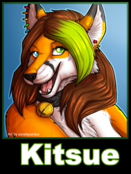 kitsue badge|by purplepardus
