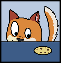 cookie icon :3|by Duskydingo