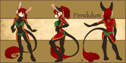 Pendulum Ref Sheet|by Tygurstar